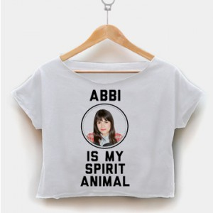 Abbi Is My Spirit Animal crop shirt women clothing by fashionveroshop