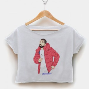 Drake hotline bling dance crop shirt women clothing by fashionveroshop
