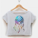 1 800 hotline bling crop shirt graphic print tee for women by fashionveroshop