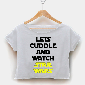 Lets Cuddle And Watch Star Wars - The Force Awakens Movie
