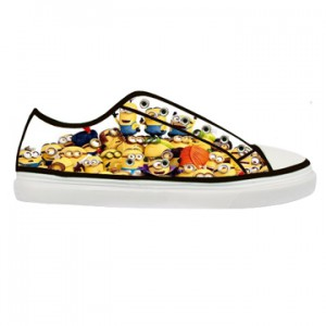 Minion canvas shoes adult men and women