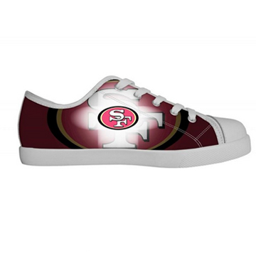 NFL San Francisco canvas shoes
