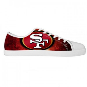 NFL San Francisco 49ers canvas shoes