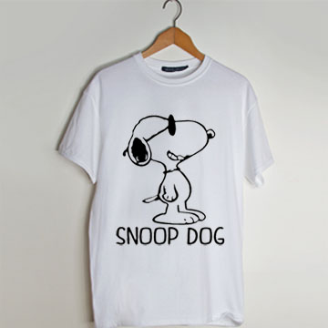 98b932ffb Snoop Dog - Peanuts Movie Snoopy Inspired t shirt men and t shirt ...