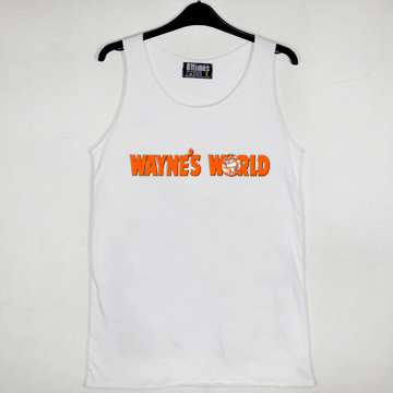 Waynes World logo unisex tank top men and women size S,M,L,XL,2XL - fashionveroshop.com