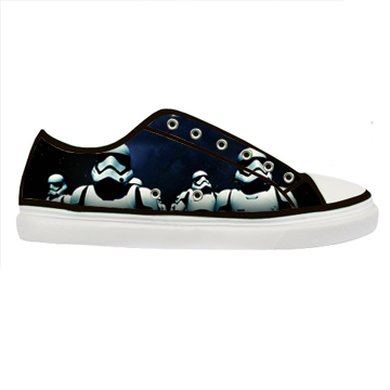 Star wars the force awakens canvas shoes adult men and women