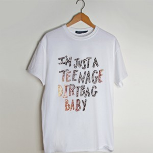 teenage, dirtbag, one direction lyrics