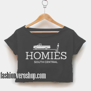 Homie South Central - My Homies crop shirt women
