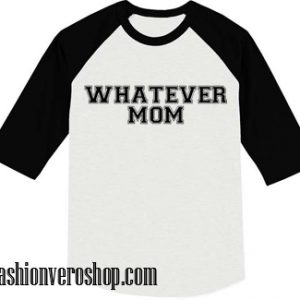 Whatever mom muscle Raglan Unisex Shirt