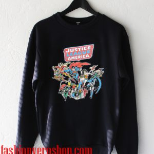 the Justice League of America Sweatshirt