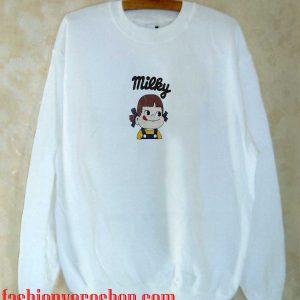 Milky shirt Sweatshirt