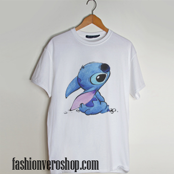 Stitch Drawing T shirt