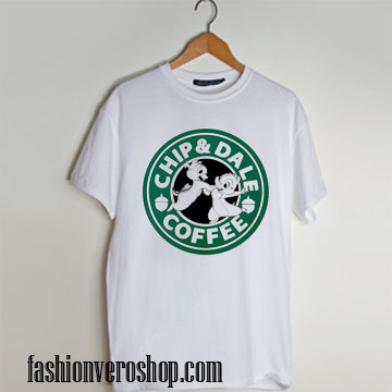 chip and dale coffee T shirt