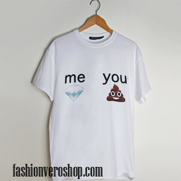 poop diamond emoji T shirt