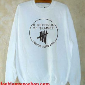 5 Seconds Of Summer Derping Since 2011 Sweatshirt