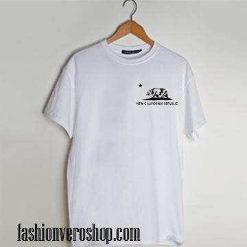 California Republic Bear T shirt