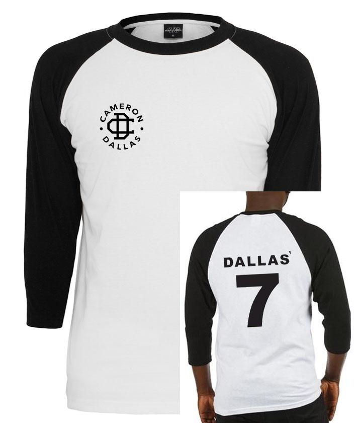 Cameron Dallas raglan unisex shirt