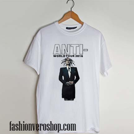 Rihanna Anti-Tour T Shirt