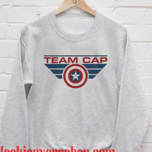 Team Captain america Sweatshirt