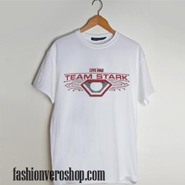 Team Stark logo T-Shirt