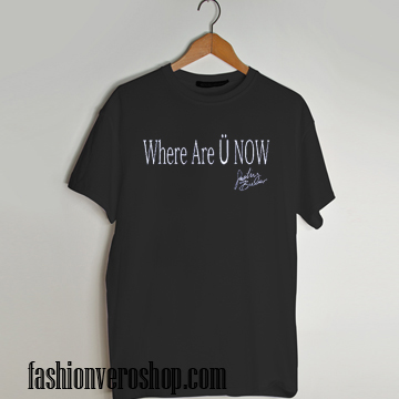 where are you now T shirt
