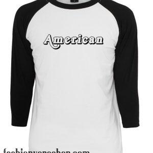 American raglan unisex shirt