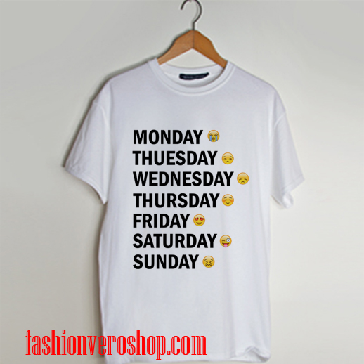 Day emotion funny T shirt