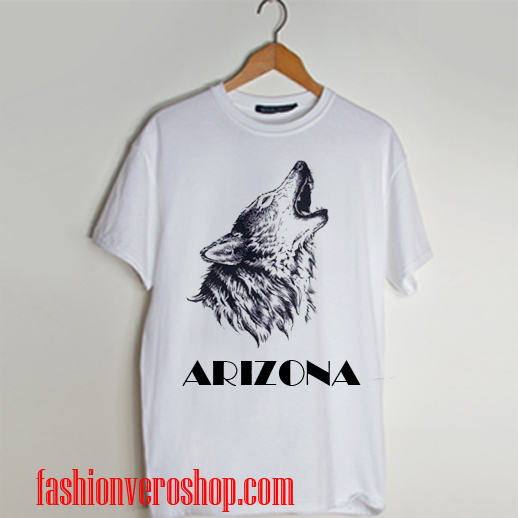 arizona Wolf T shirt
