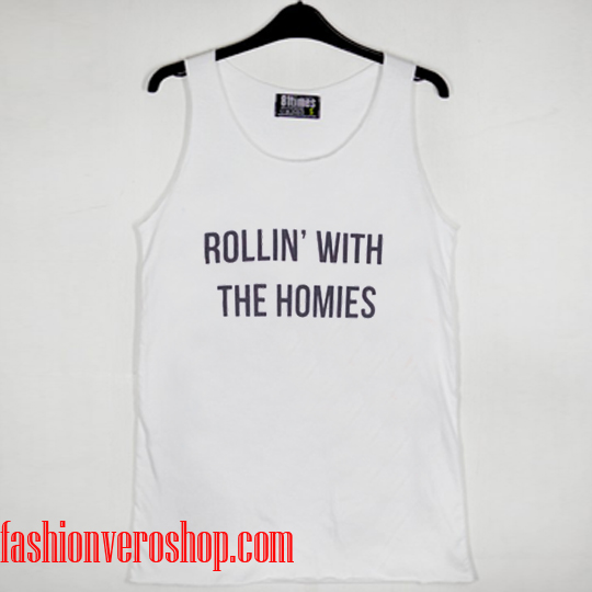 rollin with the homies Tank top women