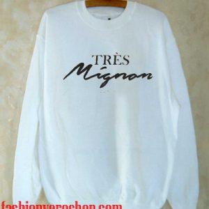 très mignon Paris Sweatshirt