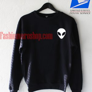 Alien face Sweatshirt