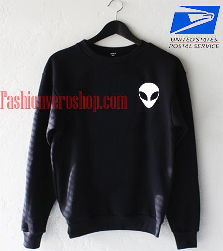 Alien face Sweatshirt