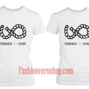 Best Friend Forever Couple T-Shirt women