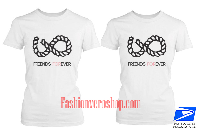 Best friend forever couple t shirt women for Best couple t shirt design