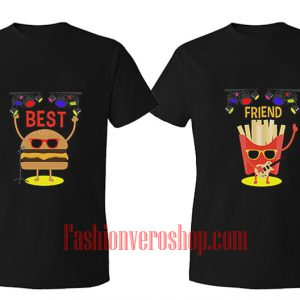 Best friend Music BFF Couple T-Shirt