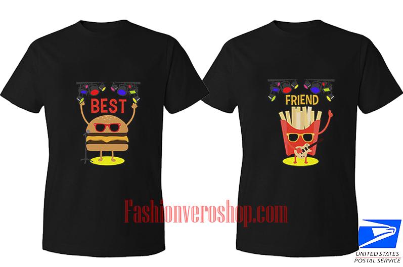 Best friend Music BFF Couple T Shirt