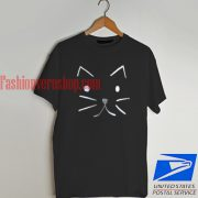 Cat sketch T shirt