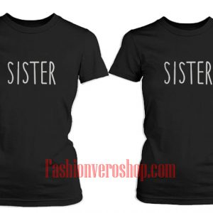 Sister BFF Couple T-Shirt