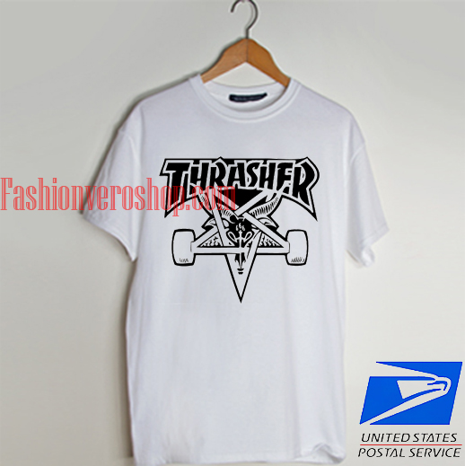 9637104672d3 Thrasher 666 Satanic T shirt