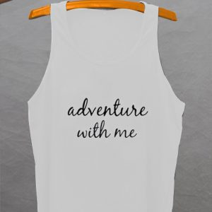 ADVENTURE WITH ME woman Tank top