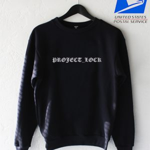 Project lock Sweatshirt