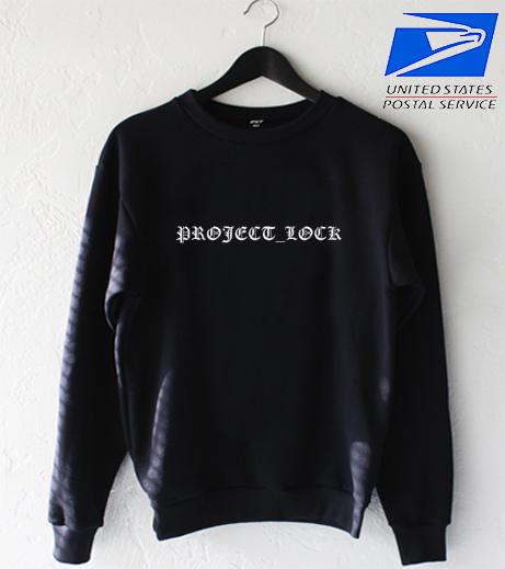 Project lock Sweatshirt