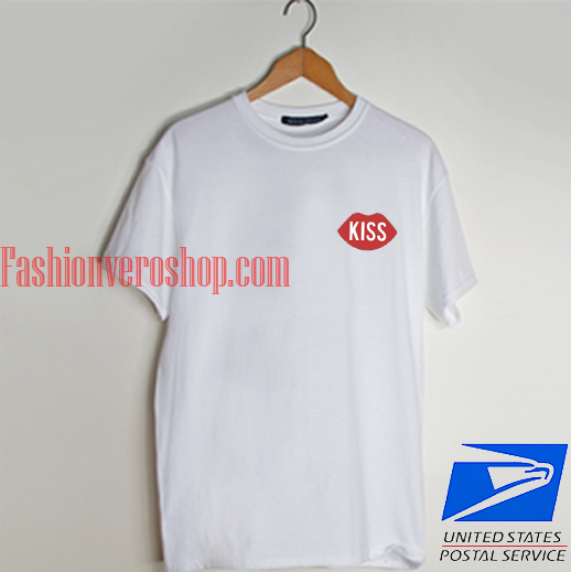 Sexy red lips T shirt