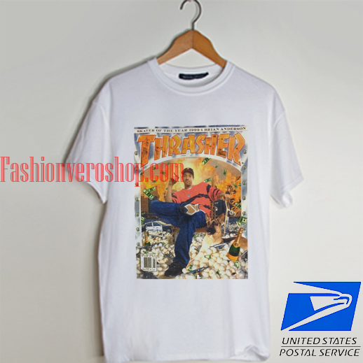 Thrasher SOTY Brian Anderson T shirt