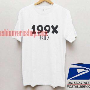 199X kids T shirt