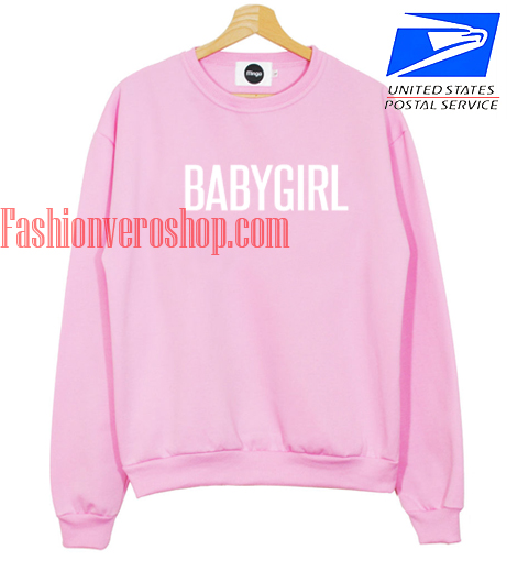 Babygirl pink Sweatshirt