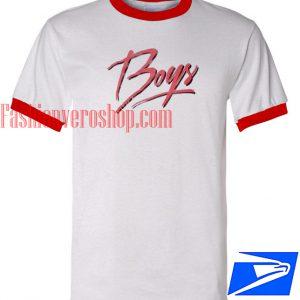 Unisex ringer tshirt - Boys