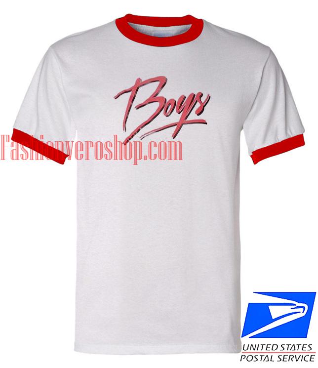 Unisex ringer tshirt Boys