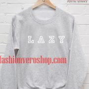 Lazy Grey Sweatshirt