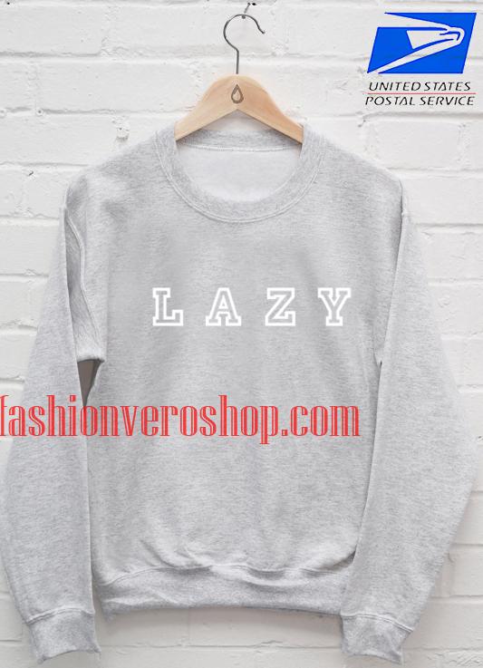Lazy Grey Sweatshirt
